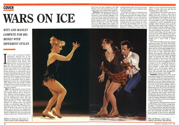 Article Preview: WARS ON ICE, January 1991 | Maclean's