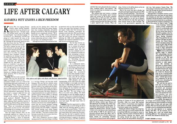 Article Preview: LIFE AFTER CALGARY, January 1991 | Maclean's