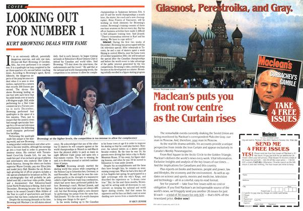 Article Preview: LOOKING OUT FOR NUMBER 1, January 1991 | Maclean's