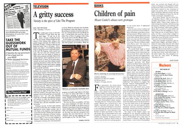 Article Preview: A gritty success, January 1991 | Maclean's