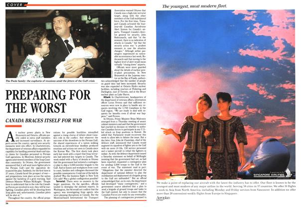 Article Preview: PREPARING FOR THE WORST, January 1991 | Maclean's