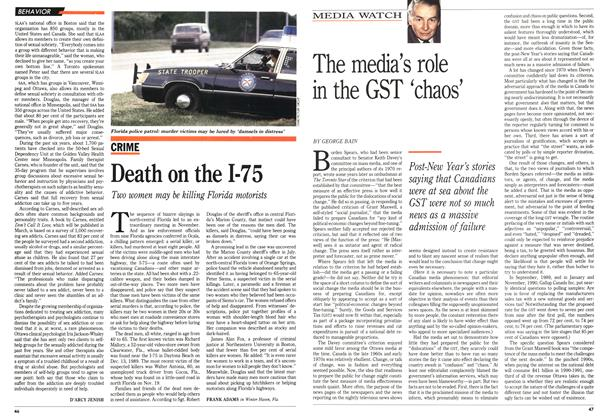 Article Preview: Death on the 1-75, January 1991 | Maclean's