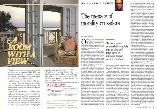 Article Preview: The menace of morality crusaders, January 1991 | Maclean's