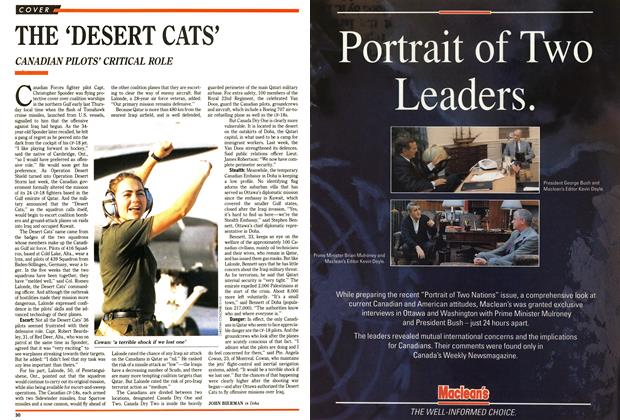 Article Preview: THE 'DESERT CATS', January 1991 | Maclean's