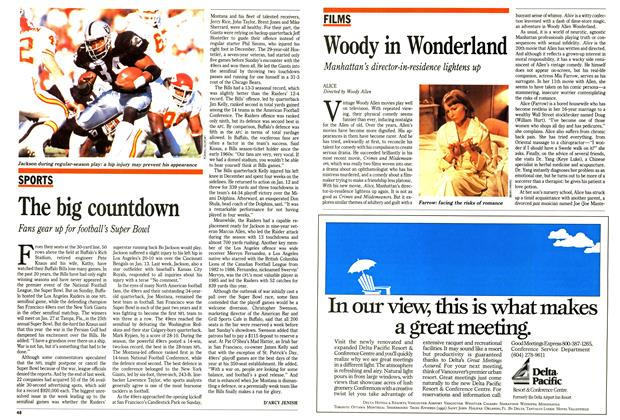 Article Preview: The big countdown, January 1991 | Maclean's