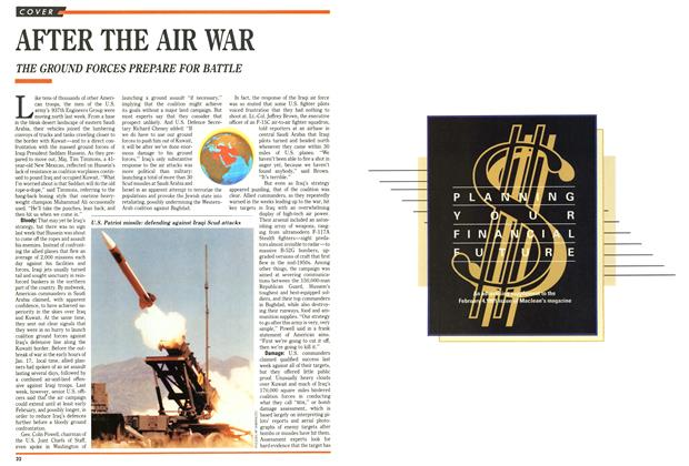 Article Preview: AFTER THE AIR WAR, February 1991 | Maclean's