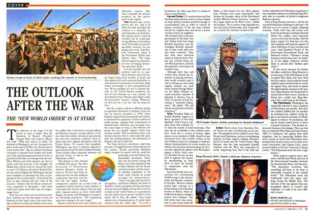 Article Preview: THE OUTLOOK AFTER THE WAR, February 1991 | Maclean's