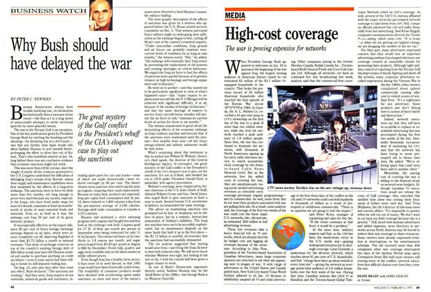 Article Preview: Why Bush should have delayed the war, February 1991 | Maclean's