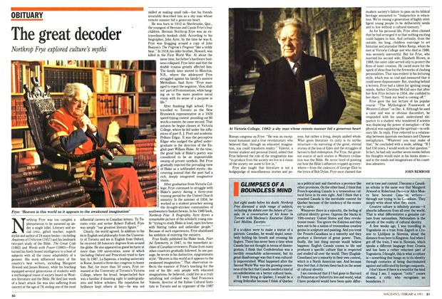 Article Preview: The great decoder, February 1991 | Maclean's
