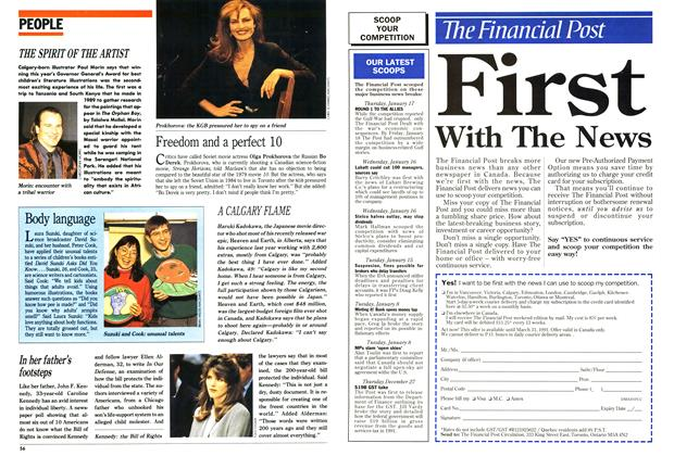 Article Preview: PEOPLE, February 1991 | Maclean's