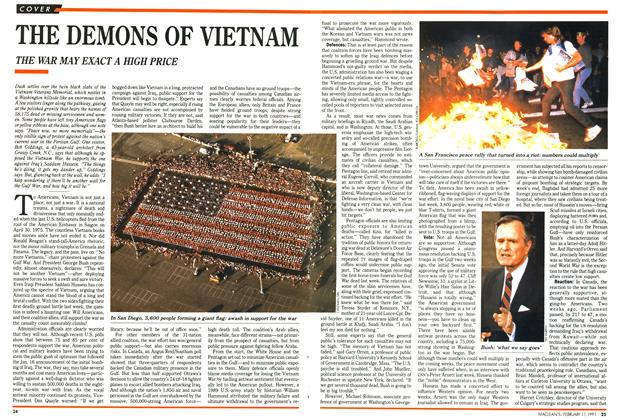 Article Preview: THE DEMONS OF VIETNAM, FEBRUARY  1991 | Maclean's