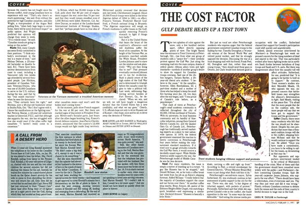 Article Preview: THE COST FACTOR, FEBRUARY  1991 | Maclean's