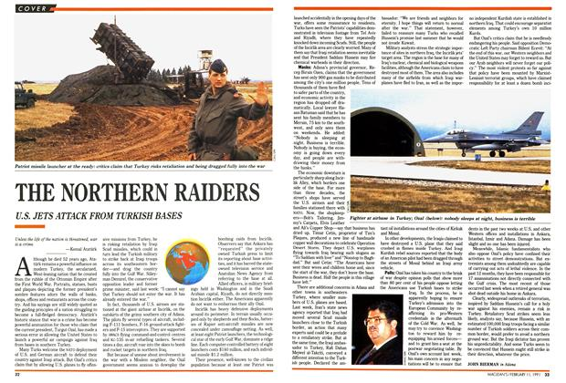 Article Preview: THE NORTHERN RAIDERS, FEBRUARY  1991 | Maclean's