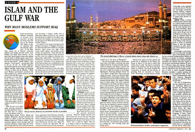 Article Preview: ISLAM AND THE GULF WAR, FEBRUARY  1991 | Maclean's