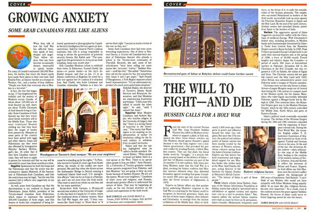 Article Preview: THE WILL TO FIGHT-AND DIE, FEBRUARY  1991 | Maclean's