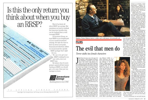 Article Preview: The evil that men do, February 1991 | Maclean's