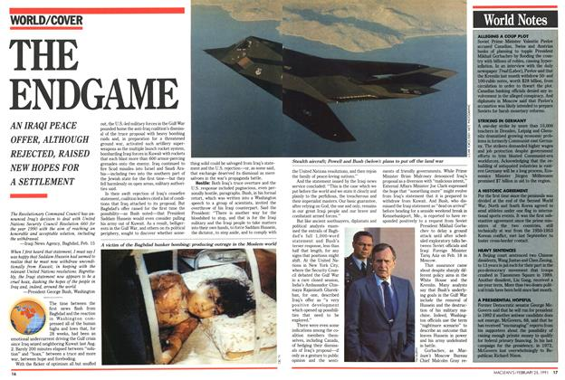 Article Preview: THE ENDGAME, February 1991 | Maclean's