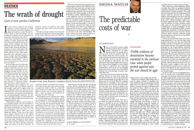 Article Preview: The wrath of drought, February 1991 | Maclean's