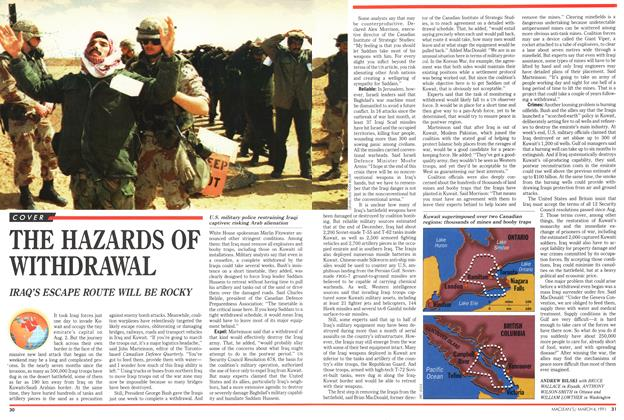 Article Preview: THE HAZARDS OF WITHDRAWAL, March 1991 | Maclean's