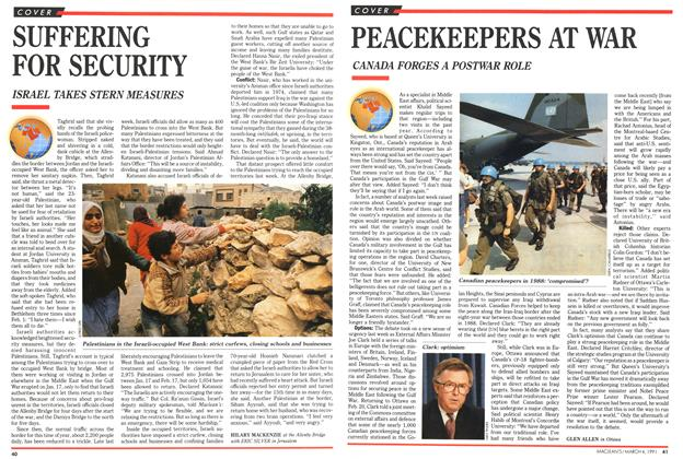 Article Preview: SUFFERING FOR SECURITY, March 1991 | Maclean's