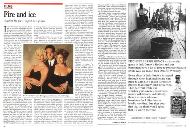 Article Preview: Fire and ice, March 1991 | Maclean's