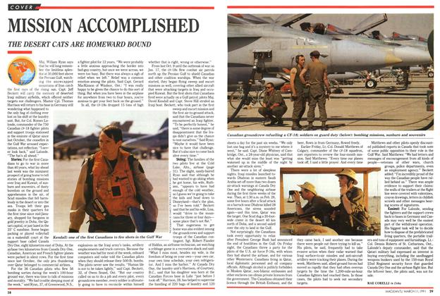 Article Preview: MISSION ACCOMPLISHED, March 1991 | Maclean's