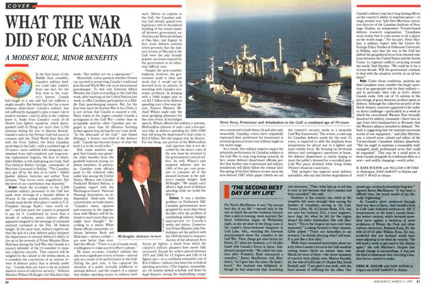 Article Preview: WHAT THE WAR DID FOR CANADA, March 1991 | Maclean's