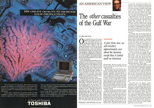 Article Preview: The other casualties of the Gulf War, March 1991 | Maclean's