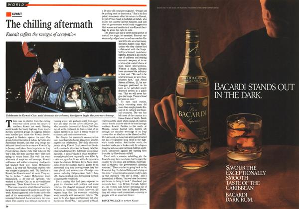 Article Preview: The chilling aftermath, March 1991 | Maclean's