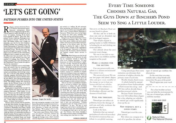 Article Preview: 'LET'S GET GOING', March 1991 | Maclean's