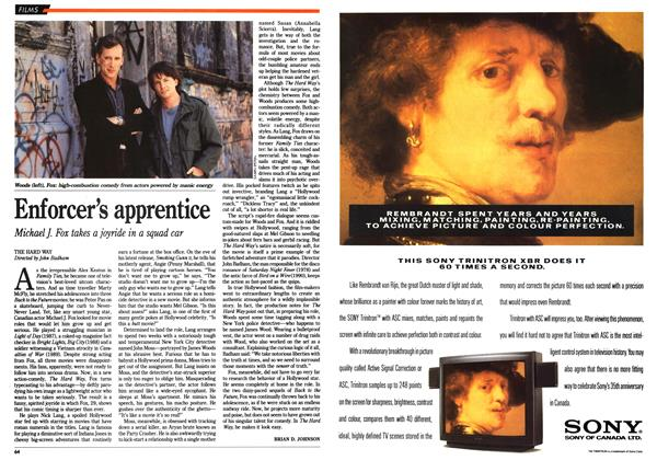Article Preview: Enforcer's apprentice, March 1991 | Maclean's