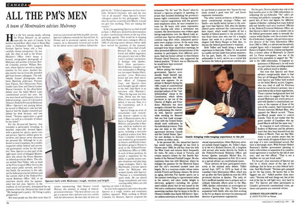 Article Preview: ALL THE PM'S MEN, March 1991 | Maclean's