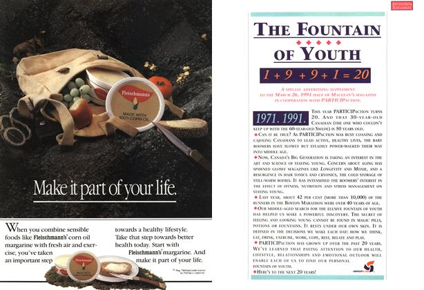 Article Preview: THE FOUNTAIN OF YOUTH, March 1991 | Maclean's