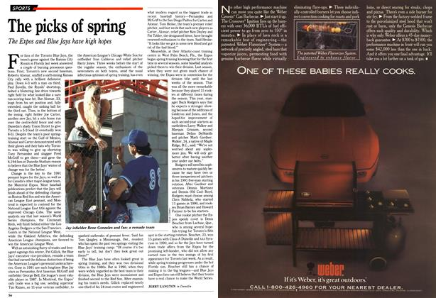 Article Preview: The picks of spring, March 1991 | Maclean's