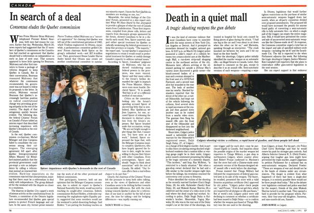 Article Preview: Death in a quiet mall, April 1991 | Maclean's