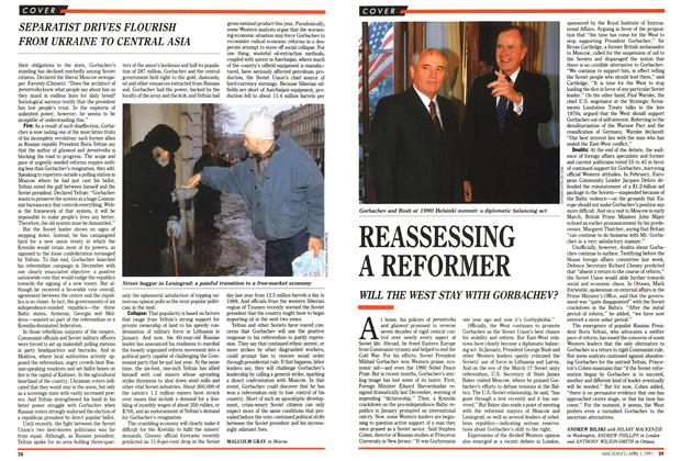 Article Preview: REASSESSING A REFORMER, April 1991 | Maclean's