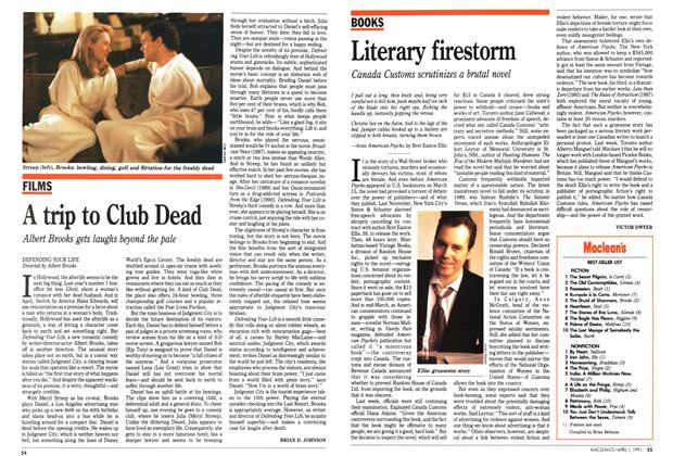 Article Preview: A trip to Club Dead, April 1991 | Maclean's