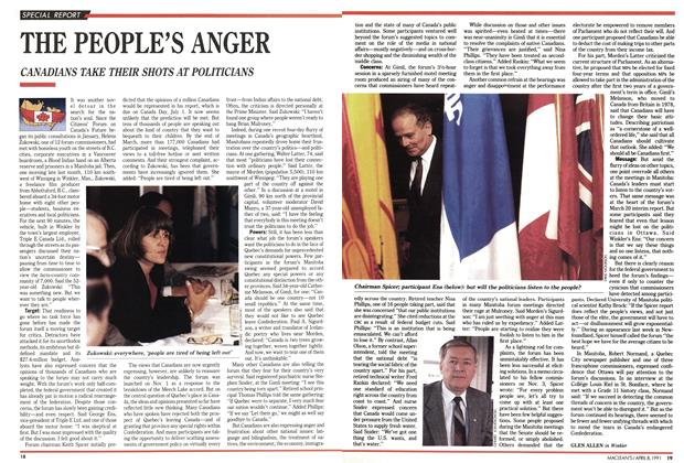 Article Preview: THE PEOPLE'S ANGER, April 1991 | Maclean's