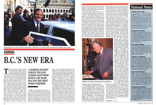 Article Preview: B.C.'S NEW ERA, April 1991 | Maclean's