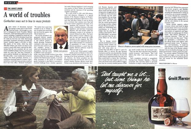Article Preview: A world of troubles, April 1991 | Maclean's