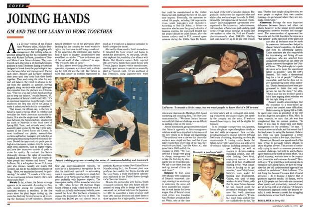 Article Preview: JOINING HANDS, April 1991 | Maclean's