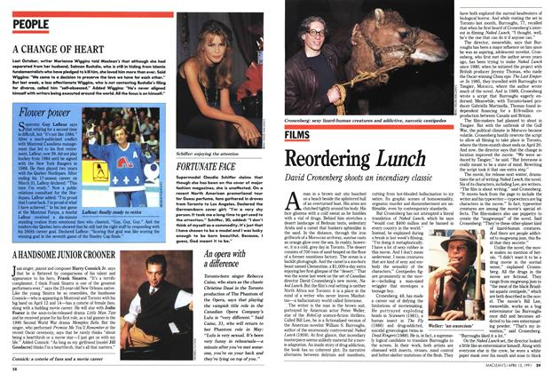 Article Preview: Reordering Lunch, April 1991 | Maclean's