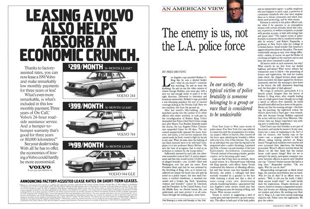 Article Preview: The enemy is us, not the L.A. police force, April 1991 | Maclean's