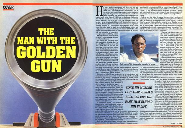Article Preview: THE MAN WITH THE GOLDEN GUN, April 1991 | Maclean's