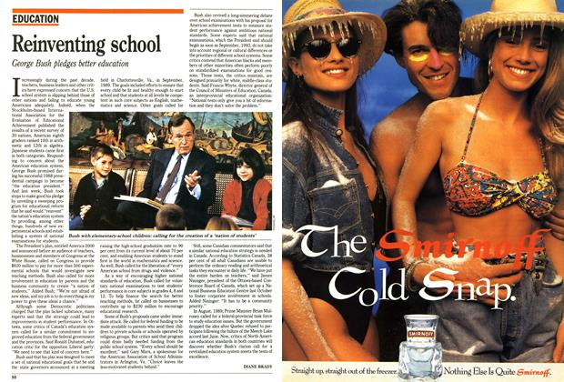 Article Preview: Reinventing school, April 1991 | Maclean's