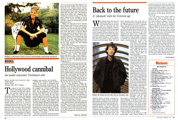 Article Preview: Hollywood cannibal, April 1991 | Maclean's