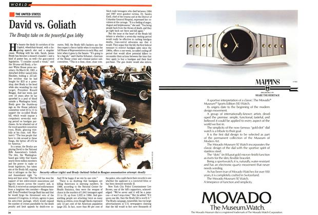 Article Preview: David vs. Goliath, May 1991 | Maclean's