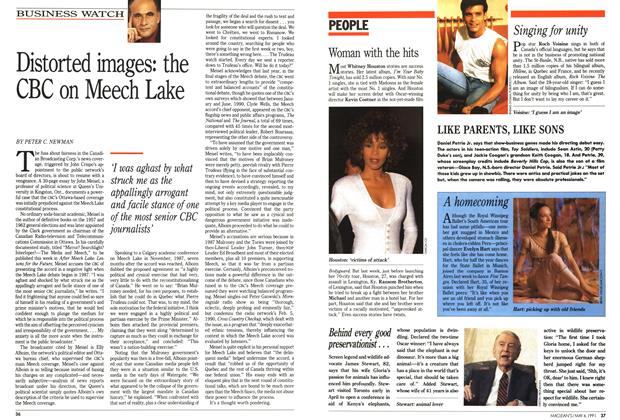 Article Preview: Distorted images: the CBC on Meech Lake, May 1991 | Maclean's