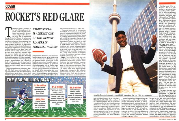 Article Preview: ROCKET'S RED GLARE, May 1991 | Maclean's