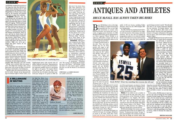 Article Preview: ANTIQUES AND ATHLETES, May 1991 | Maclean's